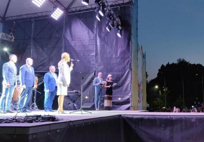 День города: Юлия Светличная поздравила жителей Лозовой