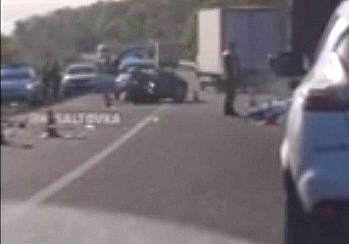 ДТП на Харьковщине: машину разорвало на части