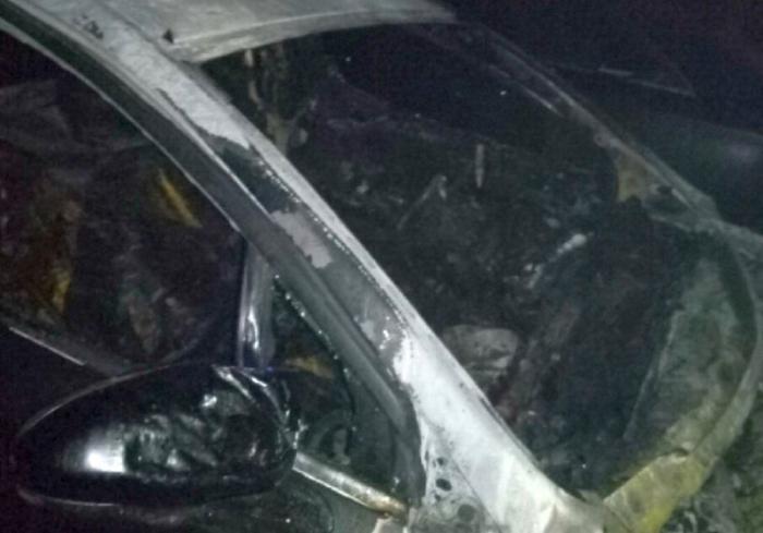 Пожар в Харькове: на Салтовке сгорела машина