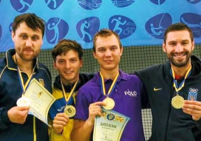 Харьковские шпажисты победили на Кубке Украины