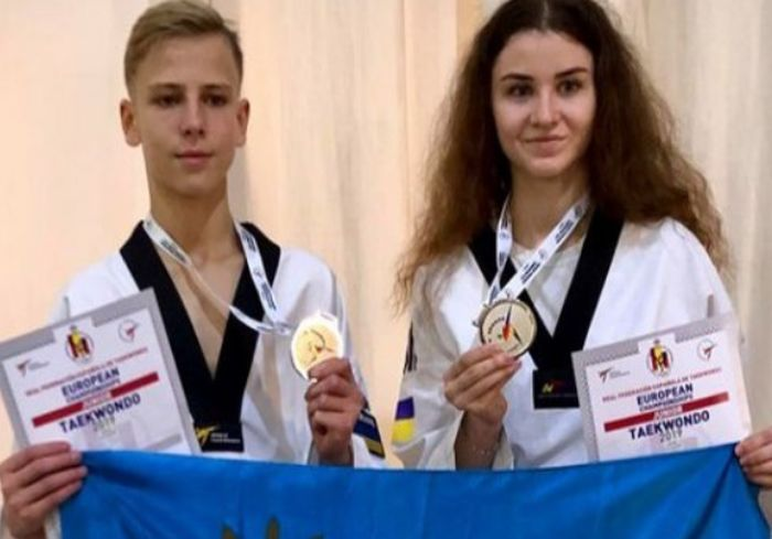 Харьковчанин стал серебряным призером чемпионата Европы по тхэквондо