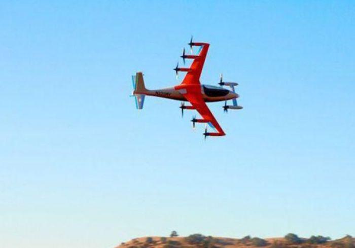 В США представили электросамолет с вертикальным взлетом (+видео)