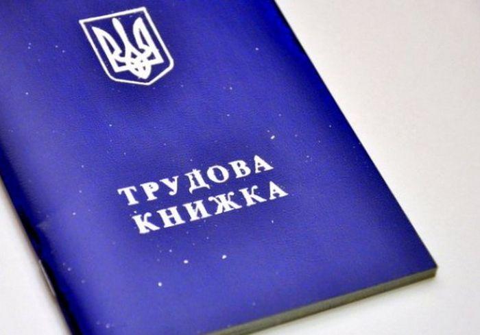 Кабмин Украины отменит обязательность ведения трудовых книжек