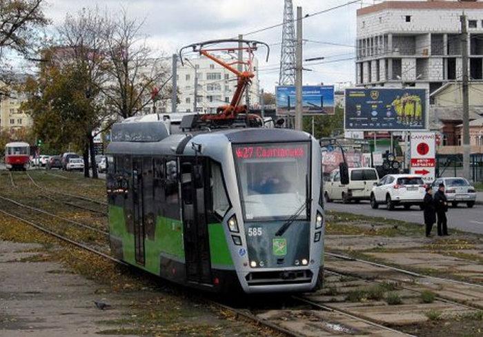 Три трамвая изменили маршруты