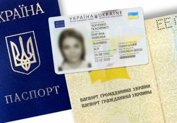 Какие документы нужны для получения паспорта в 14 лет украина