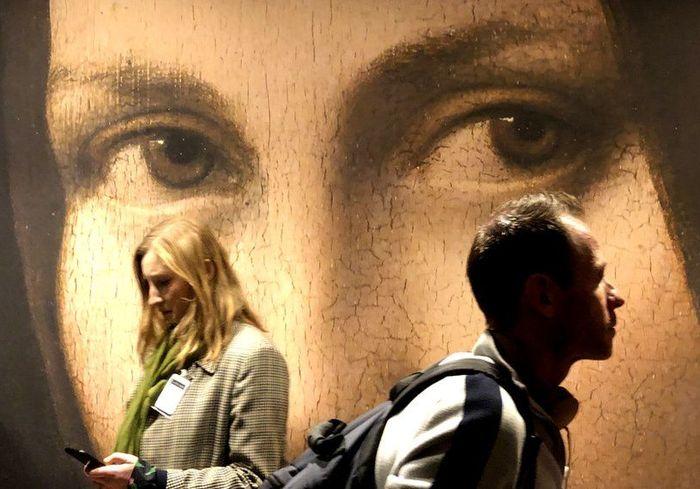 В Париже открылась грандиозная выставка работ Леонардо да Винчи