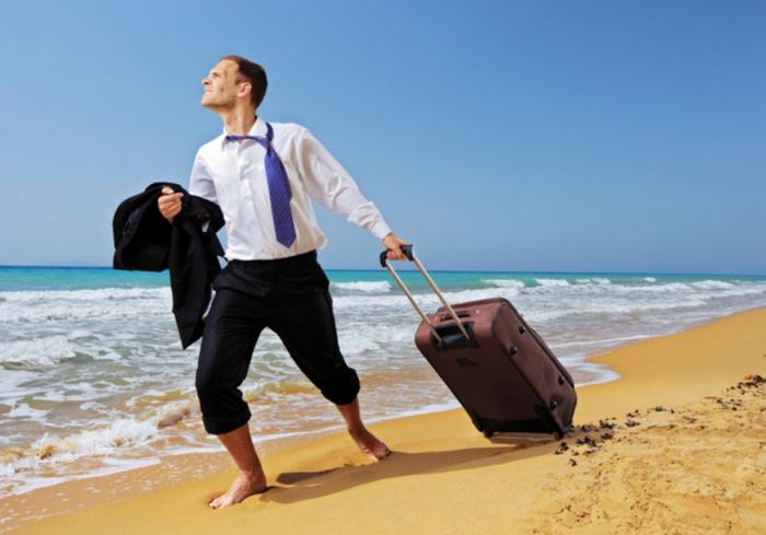 Треть украинцев не были в отпуске