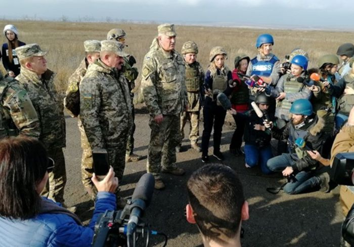 Сепаратисты сорвали разведение сил в Петровском