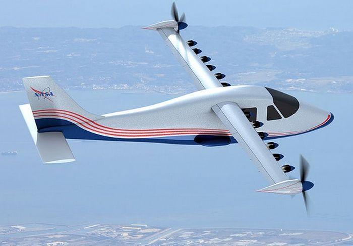 В NASA сконструировали первый полностью электрический самолет (видео)