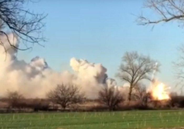Взрывы в Балаклее: есть пострадавший (видео)