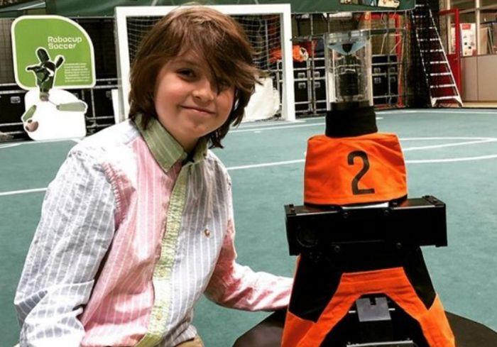 «IQ 145». Девятилетний мальчишка из Нидерландов уже заканчивает университет (видео)