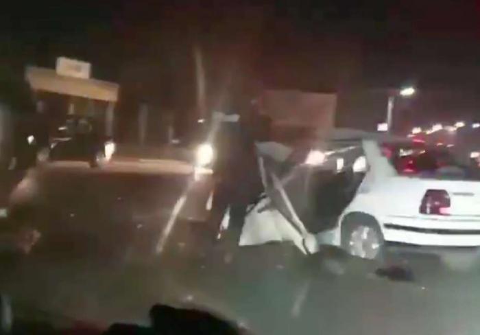 Чудовищная авария случилась в Харьковской области (видео)
