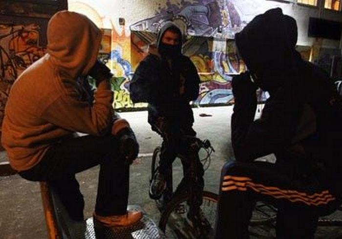 В Харькове банда малолеток напала на индуса