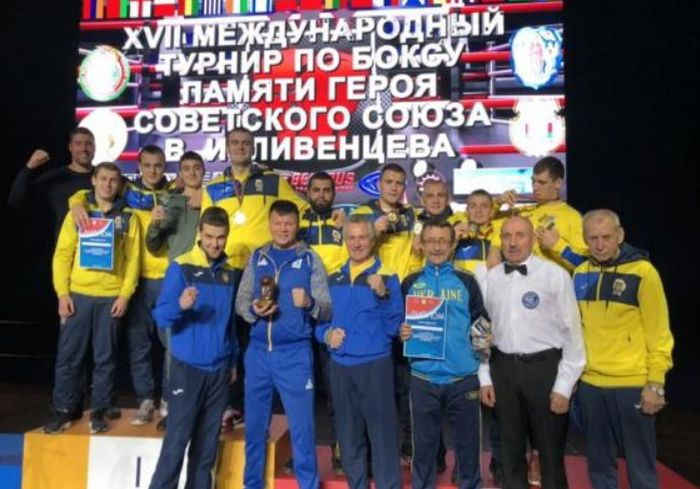 Харьковские боксеры завоевали «золото» на международном турнире