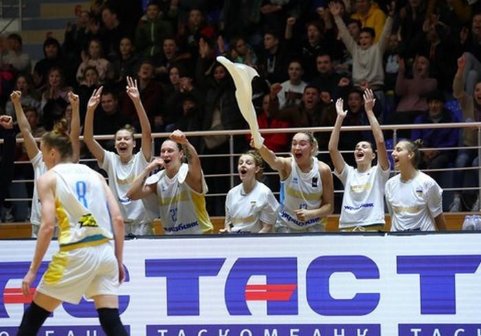 Украинки победили в отборочной игре на Евробаскет