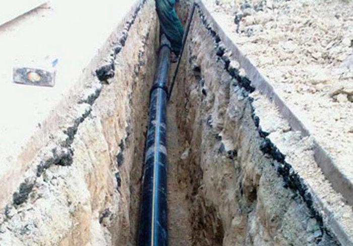 В Харьковской области повредили газопровод