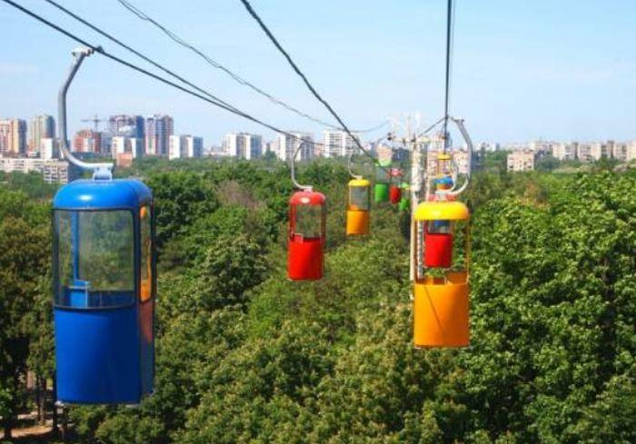 Названа причина закрытия канатной дороги в Харькове