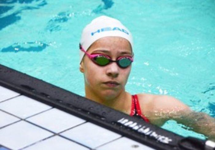 Юная харьковчанка превосходно выступила на чемпионате Украины по плаванию