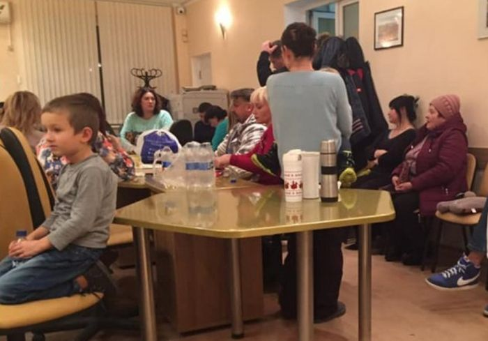 Жители Черноморска оригинально наказали мэрию за отсутствие тепла (видео)
