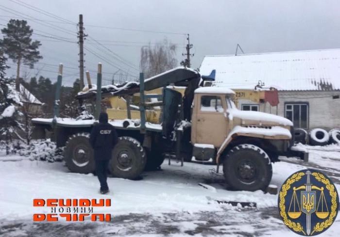 СБУ задержала очередную бригаду «организованных черных лесорубов»