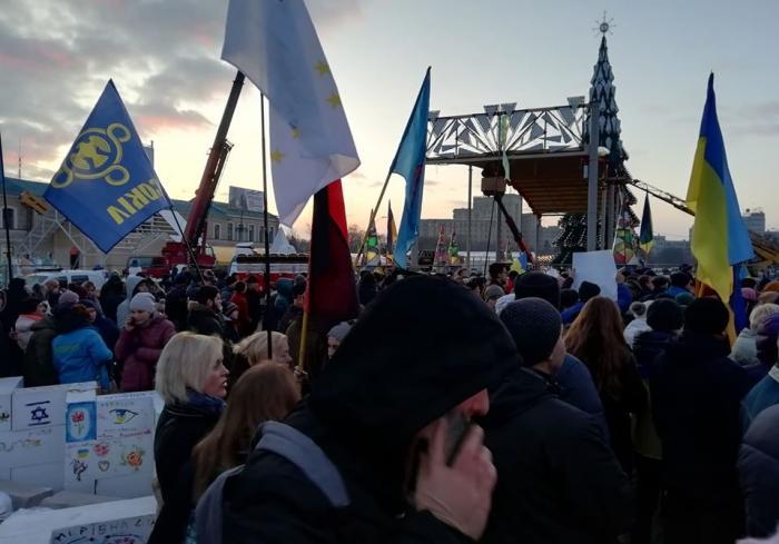 Нет капитуляции: в Харькове прошел многосотенный митинг (видео)
