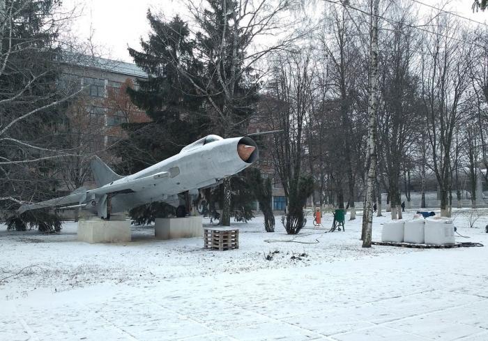 В харьковском вузе восстанавливают памятник