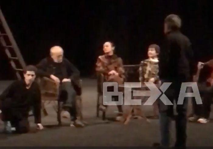 В Харькове удалось снять на видео репетицию знаменитой пьесы Чехова