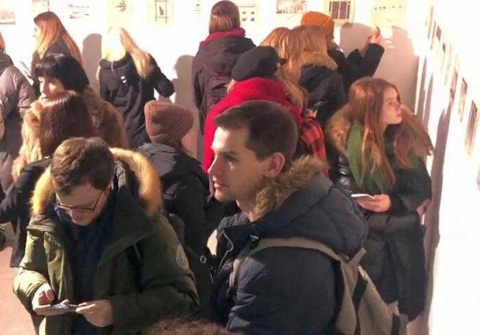 В Харькове с громким успехом открылась выставка известного уличного творца (видеорепортаж)