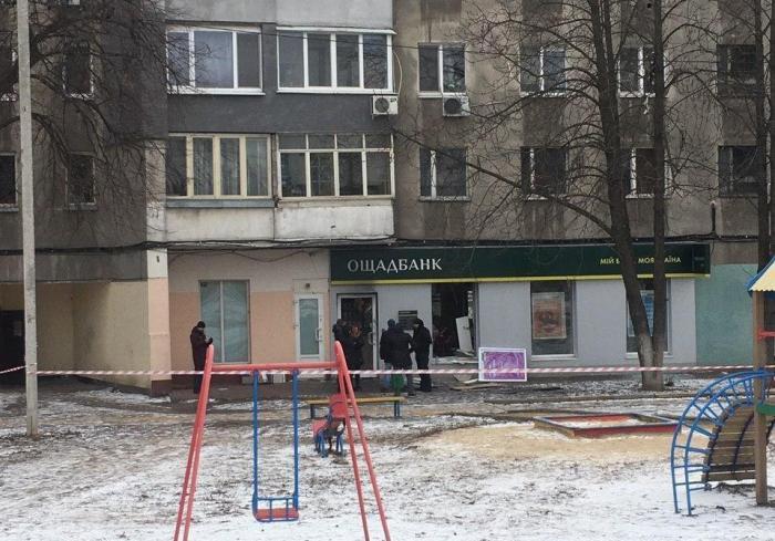 Ограбление банка в Харькове: эксклюзивное видео, подробности