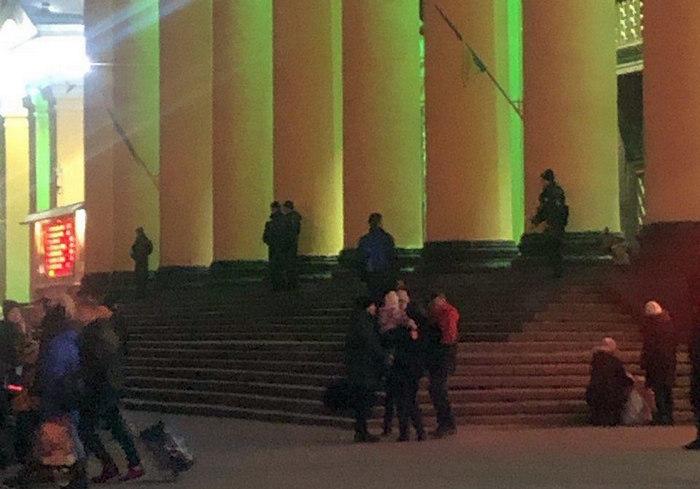 В Харькове опять поступают сообщения о минировании