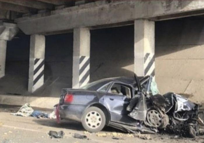 Журналисты выяснили, кто погиб в Audi во время недавнего страшного ДТП под Харьковом