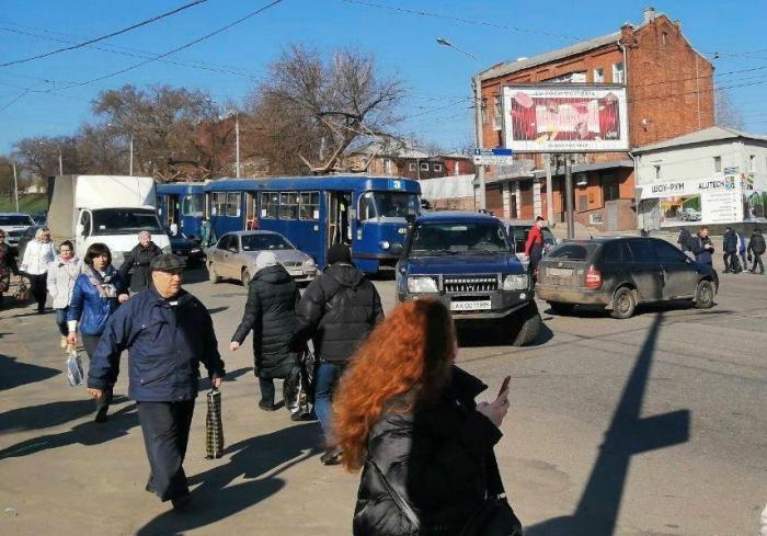 ДТП в Харькове: трамваев не ждите