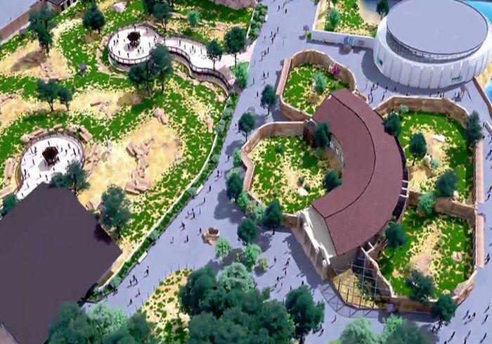 «Крокодилы, бегемоты…»: на реконструкцию зоопарка в Харькове выделены новые сотни миллионов