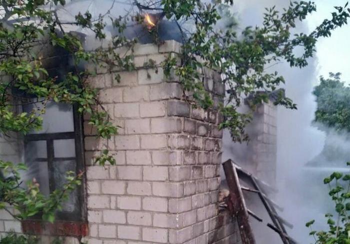 В Харьковской области пожарные спасли двух людей