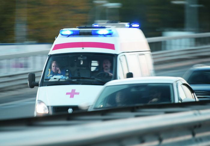 В результате ДТП в Харькове сбит пешеход (видео)