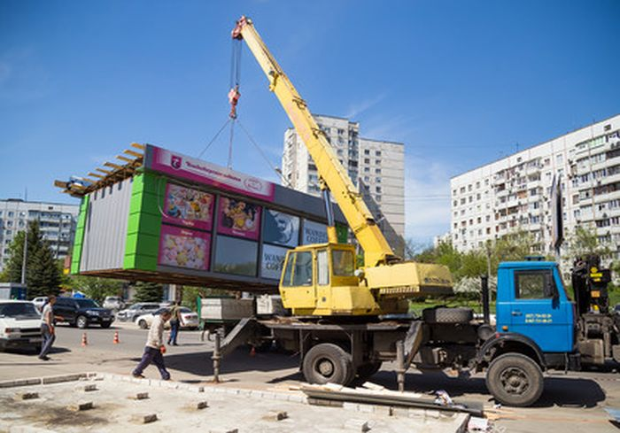 В Харькове готовятся к масштабному сносу незаконных сооружений