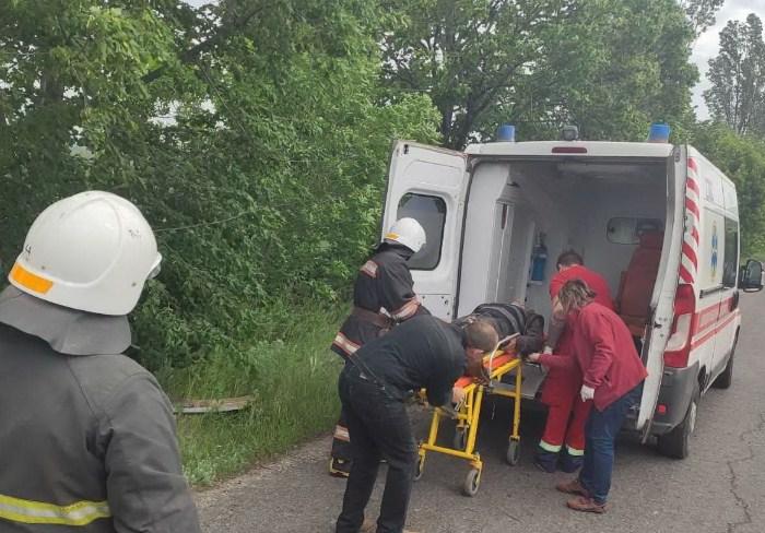 В Харьковской области в ДТП попал автобус: двое людей в больнице