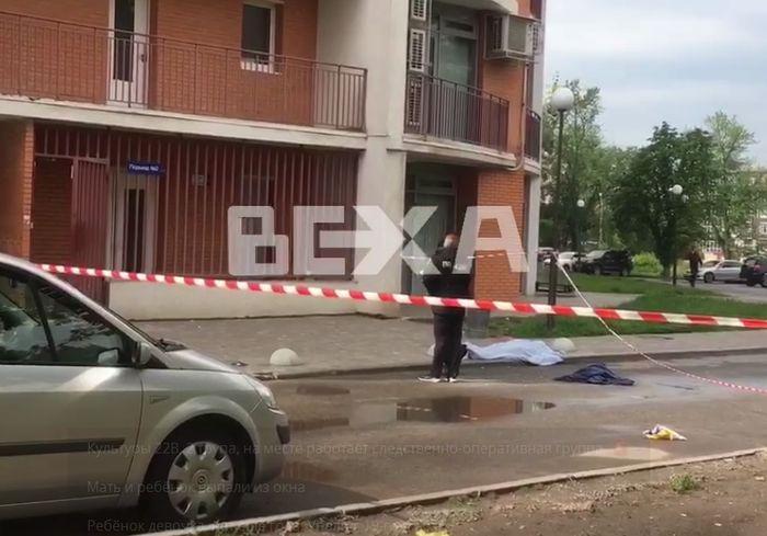 Трагедия в центре Харькова – погибли мать и ребенок (видео)