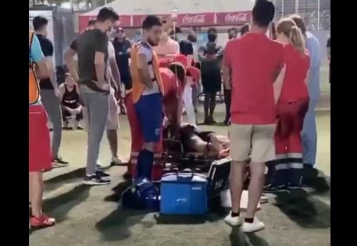В Харькове во время игры в футбол скончался мужчина