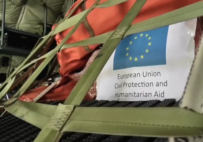 Италия передала украинским спасателям ценный груз (видео)