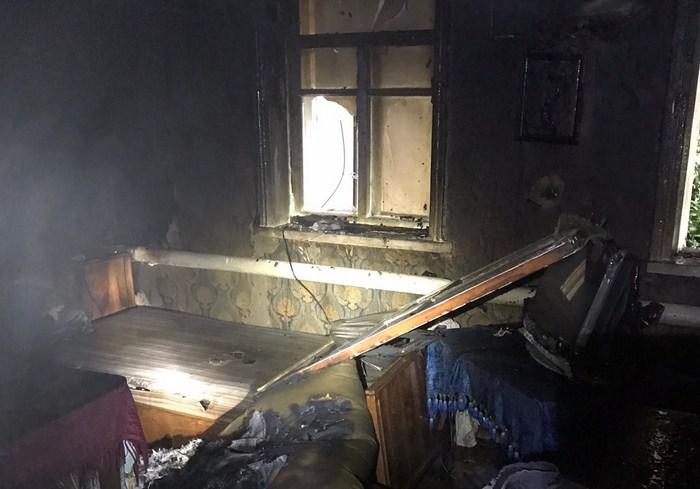 В Харьковской области пожарные спасли жизнь мужчине