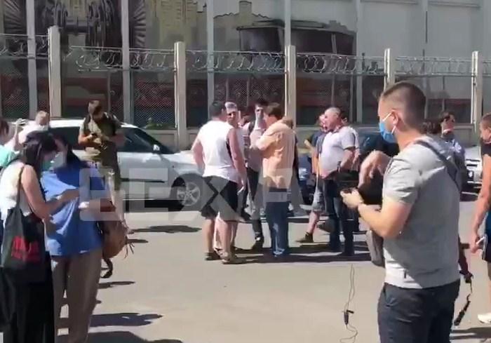 В Харькове сотрудники метрополитена требуют погасить задолженность по зарплате