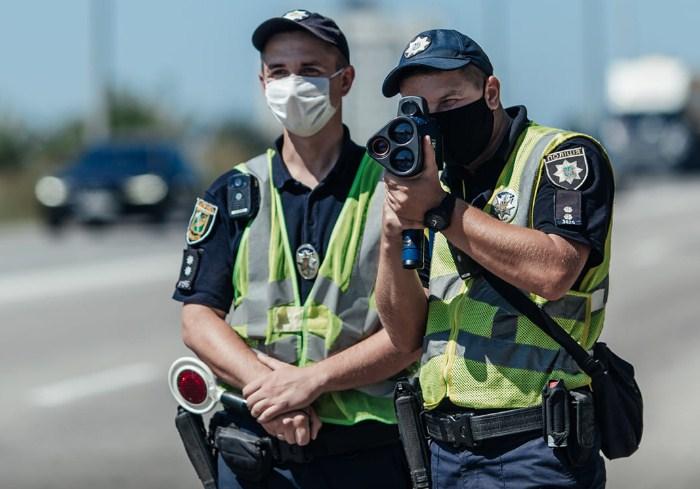 За июль патрульные составили 4768 протоколов за превышение скорости