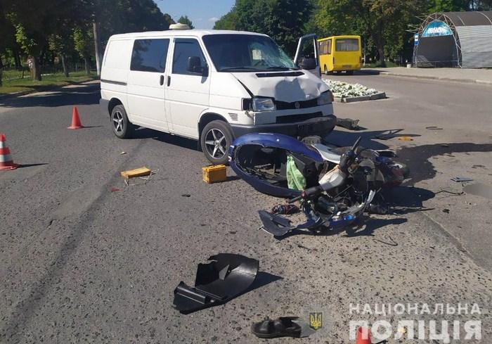Полицейские устанавливают обстоятельства аварии в Изюме