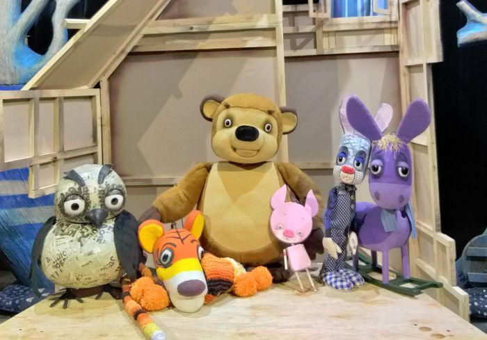 В Харьковском театре кукол устроили квест для детей и родителей