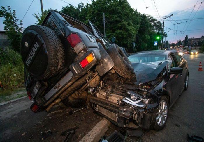 Названы ежегодные потери Украины из-за ДТП