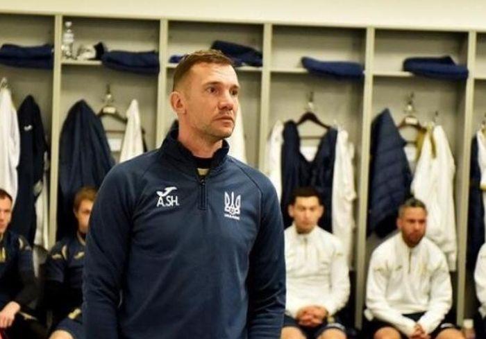 Шевченко прокомментировал разгромное поражение сборной Украины