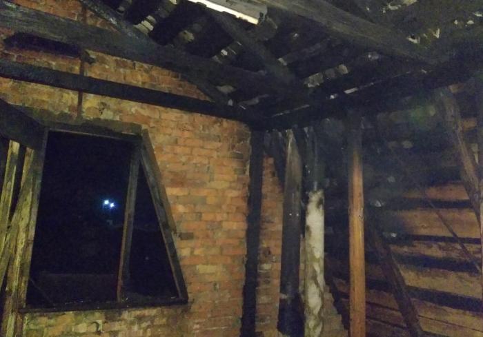 В Харьковской области сгорел дом
