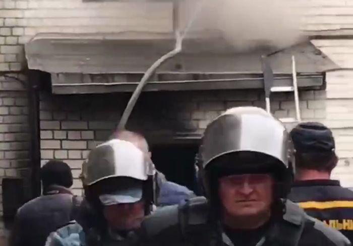 Названа причина взрыва и пожара в центре Харькова (видео)