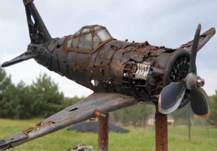 В Украине появился музей разбитых самолетов